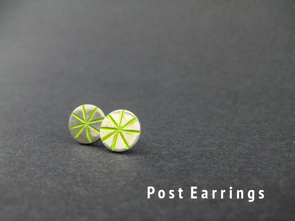 Lime Starburst Posts
