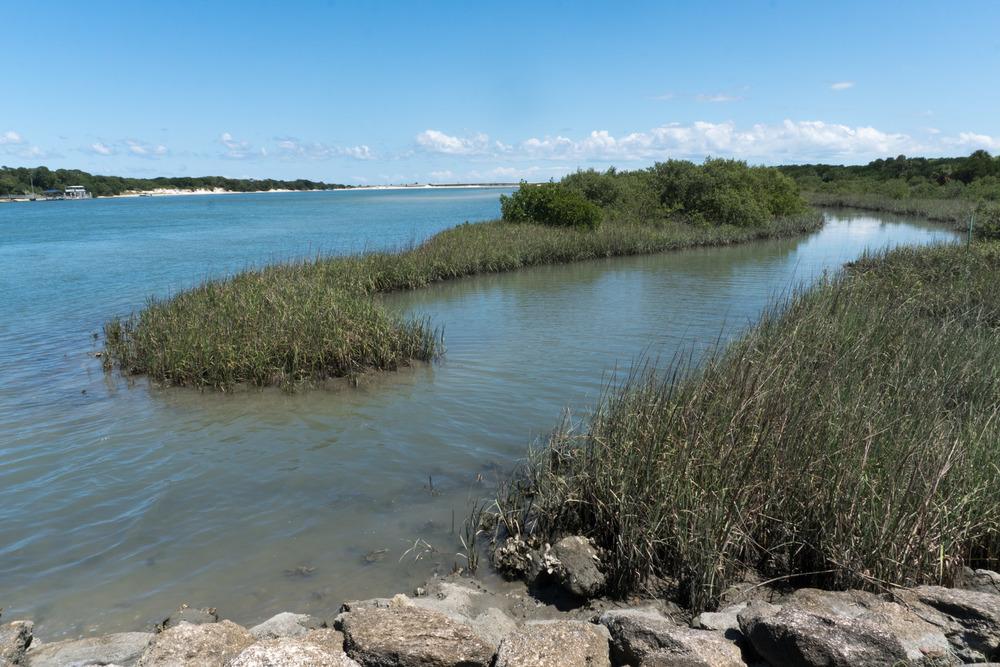 Matanzas Inlet near Fort Matanzas. (St. Augustine, FL)