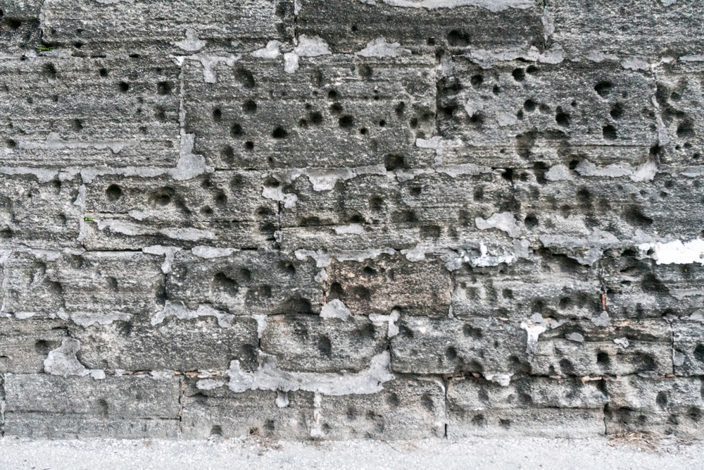 Execution Wall of Castillo de San Marcos. (St. Augustine, FL)