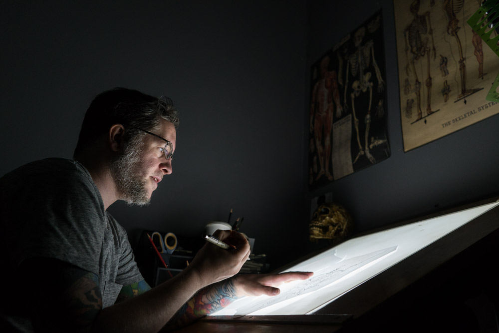 Tattoo Artist and Proprietor of NOLA Tattoo Museum, Adam Montegut