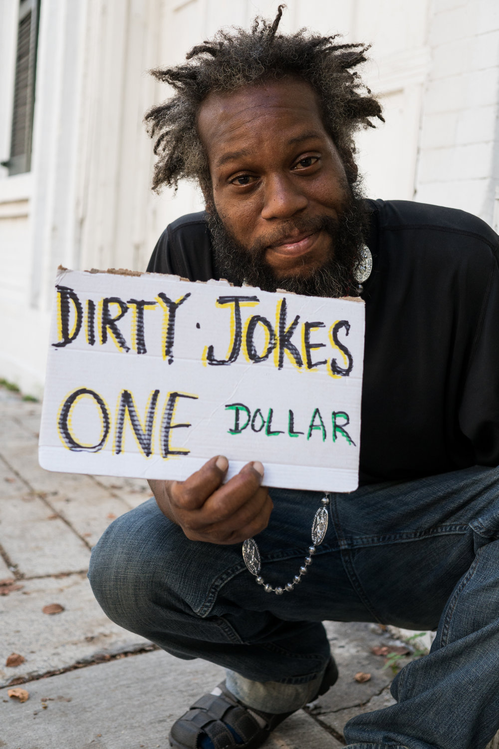 A man I met on the street who told me a clever dirty joke.