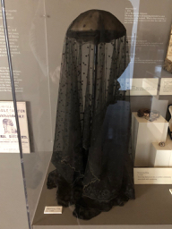 A mourning veil (1860 Louisiana State Museum)