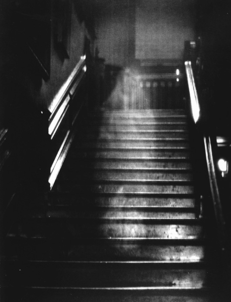 The Brown Lady of Raynham Hall. Isn't she a doll?