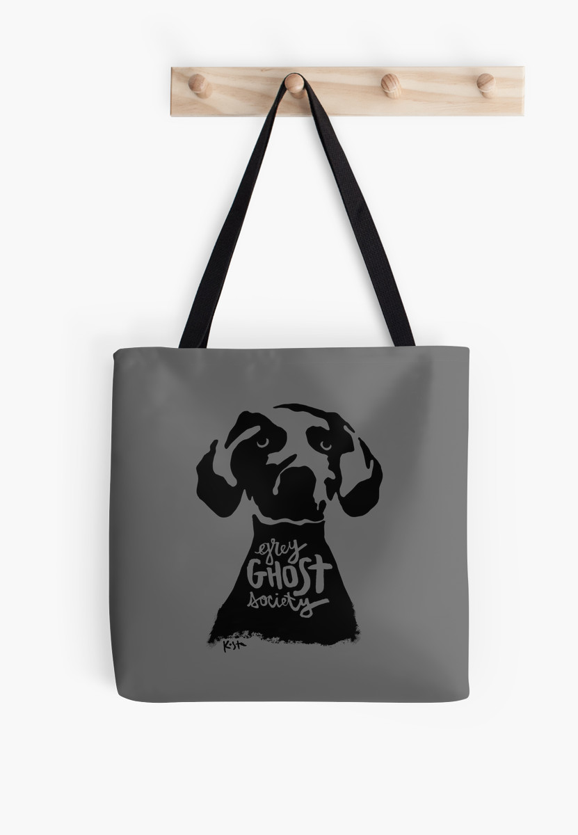 Grey Ghost Society, Tote Bag