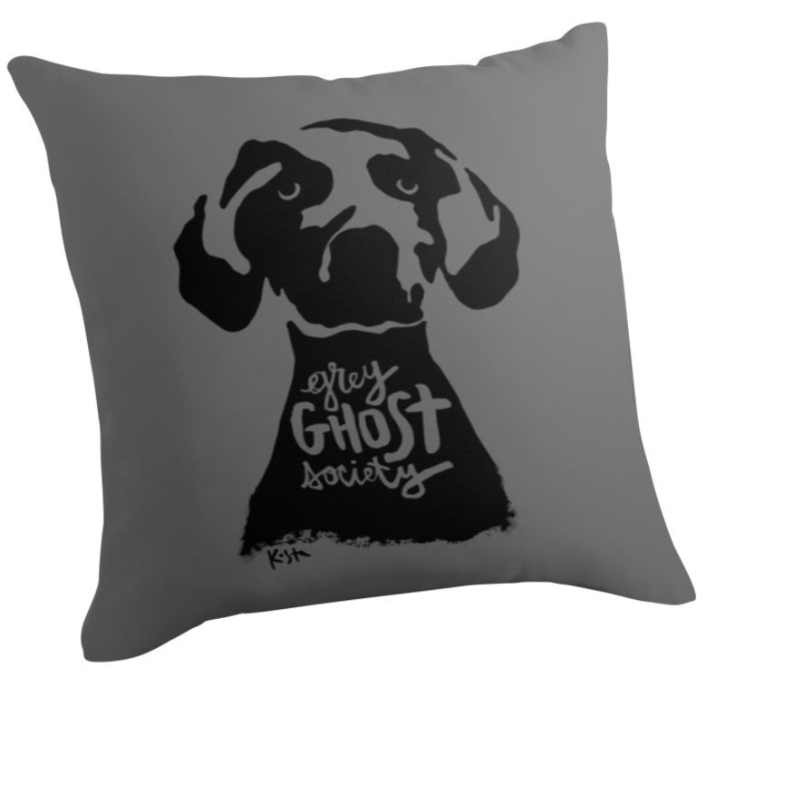 Grey Ghost Society, Throw Pillow