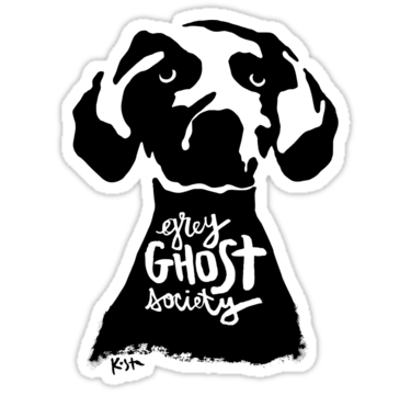 Grey Ghost Society, Sticker