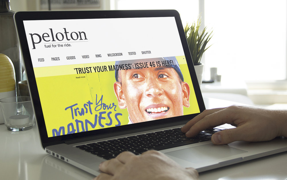 Peloton Magazine Website - Issue #46 Nairo Quintana