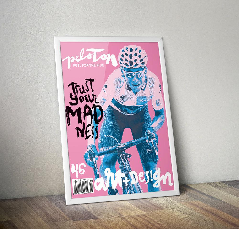 Peloton Magazine #46 Nairo Quintana Newsstand Cover - Poster