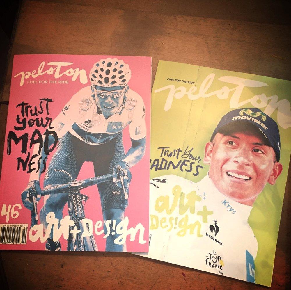 Peloton Magazine #46 Nairo Quintana Covers