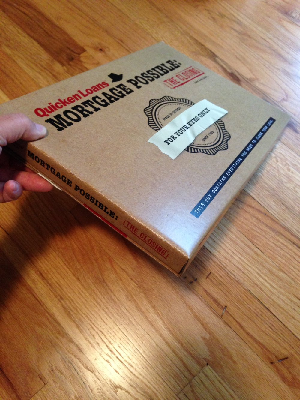 Quicken-Loans-Mortgage-Possible-Closing-Box-Packaging-Front-Hand.JPG