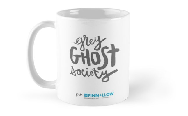 Weimaraner Grey Ghost Society : Coffee Mug - Back, Original Design