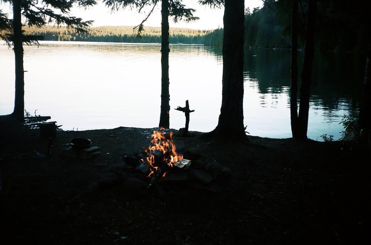 let's camp. -c