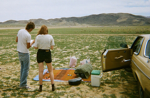 (by  GRACE DENIS )   road trips and picnics. let's go.   -c