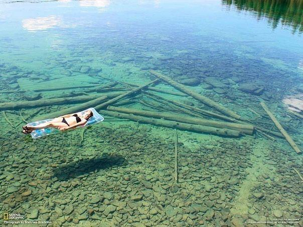 who wants to go to flathead lake, montana? -c