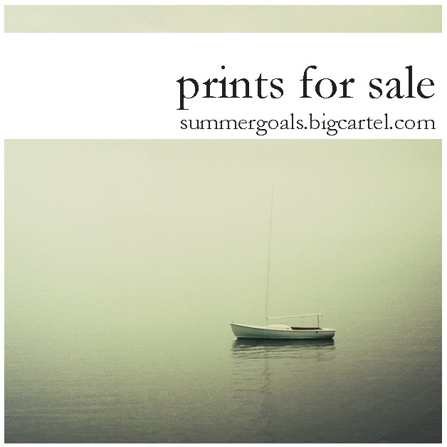 exciting news! we're now selling prints of our photos.    summergoals.bigcartel.com    -a&c