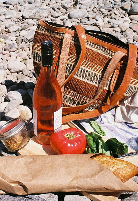 nothing is better than a simple picnic at the river with good friends on a hot summer day.   -a