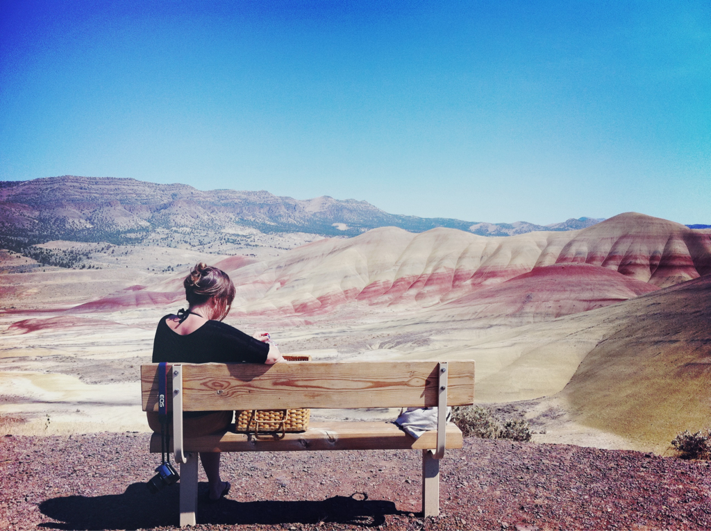 picnic at the painted hills  -a&c