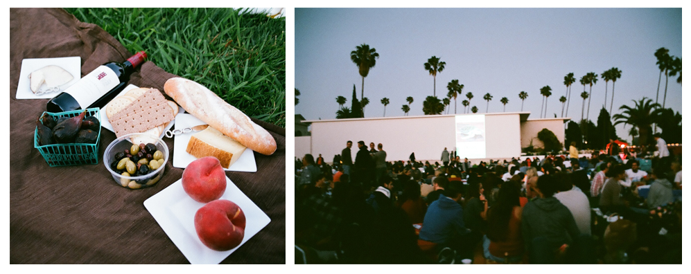 remembering a picnic and movie in hollywood cemetery last summer.   -a