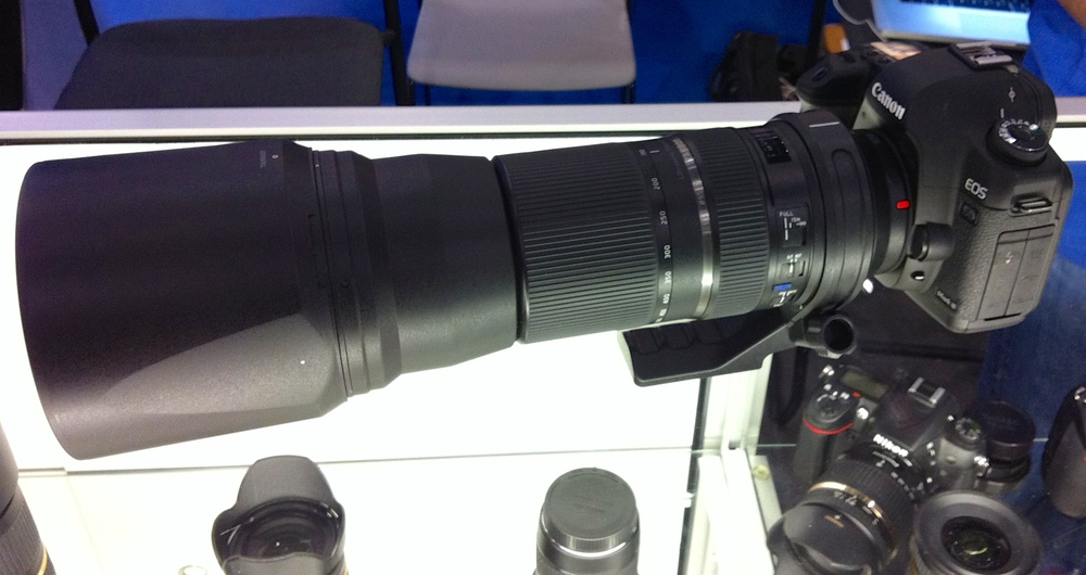 Tamron's new 150-600mm telephoto lens. This is the Canon mount (Nikon mount version delivery is TBD). I was pleasantly surprised with how well it shot!