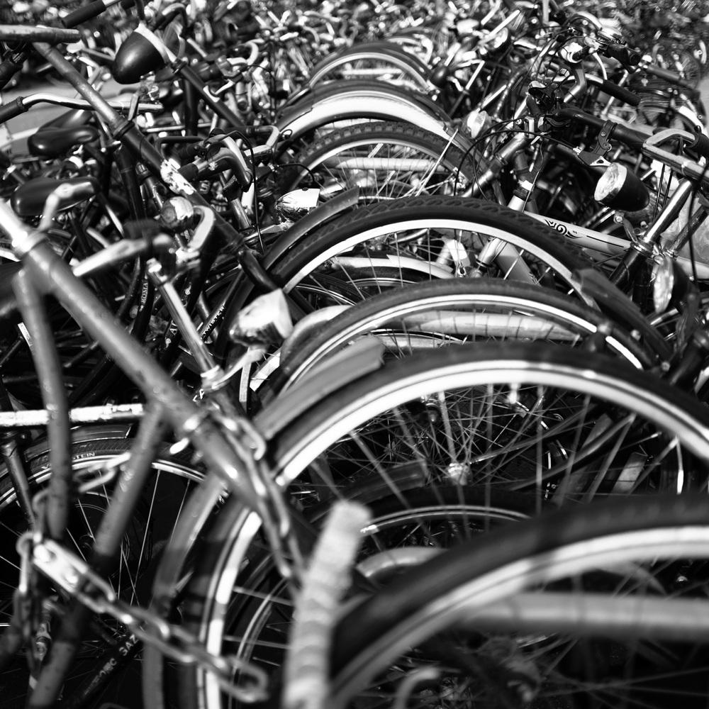 """""""Parked Bike"""""""