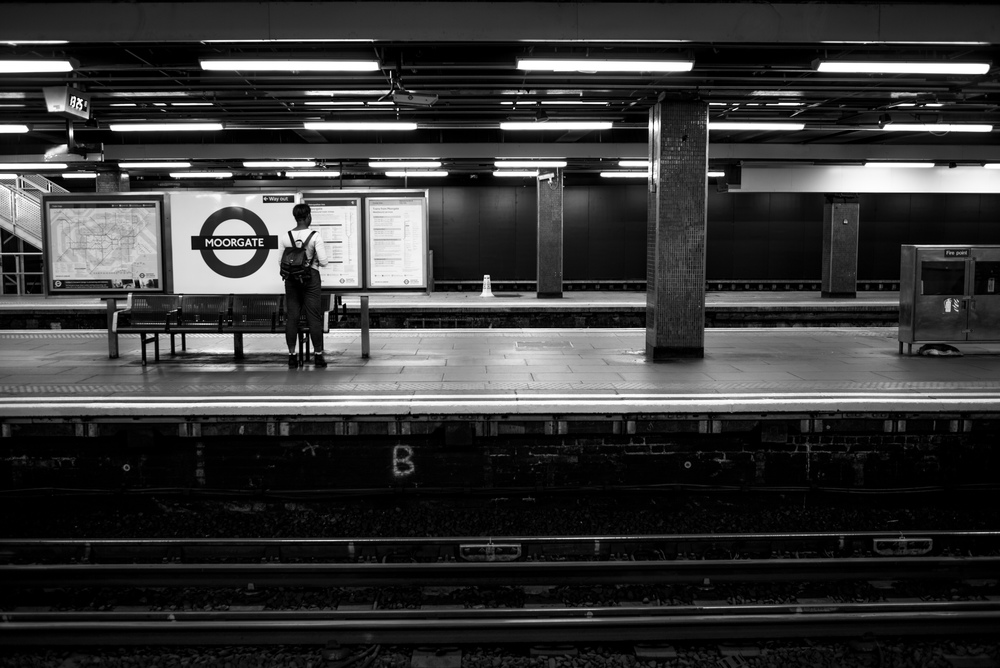 Moorgate Station - Leica MM with Leica 35mm Summarit ASPH