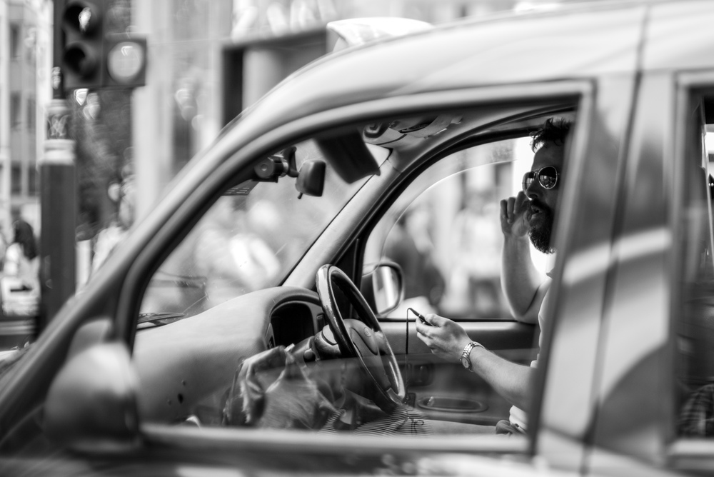 Taxi Driver - Leica MM with Leica 50mm Noctilux f/0.95