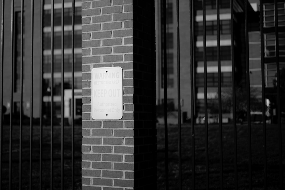 "Keep Out - Leica M10 with 50mm Summicron ""Made in Canada"""