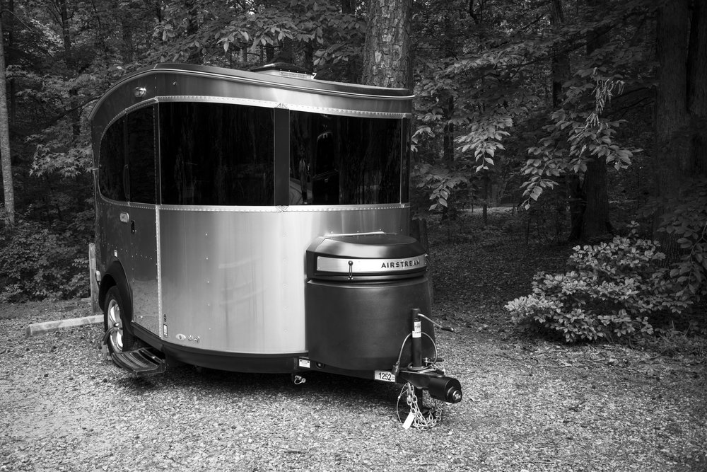 The Airstream Basecamp travel trailer