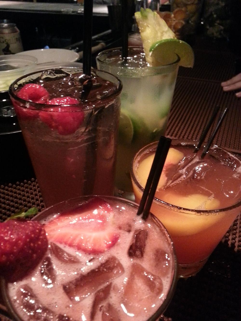 Agave Berry, Razberi Fizz, Mojilada, Kentucky Fuzz