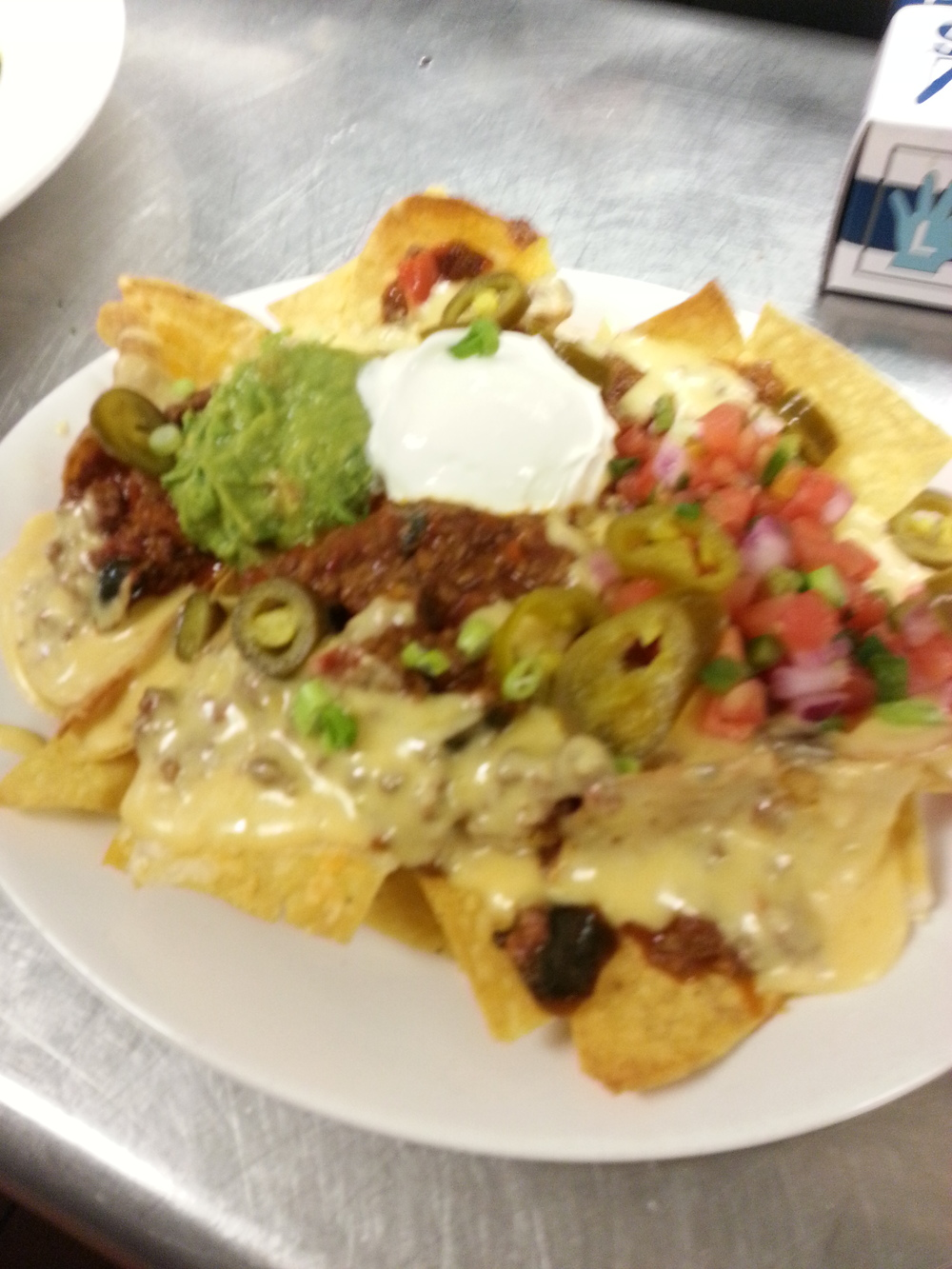 Chili Nachos (or chicken!!!)