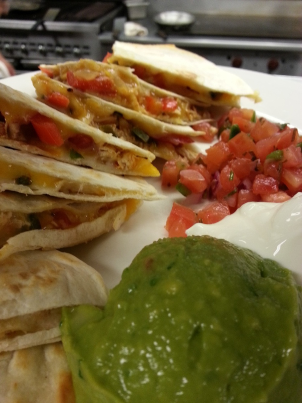 Chicken Quesadillas!!!