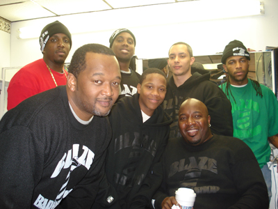 Original Blaze Family (Johnny, Sauce, Ben, Eddie, Moe, Kyle and Kev)