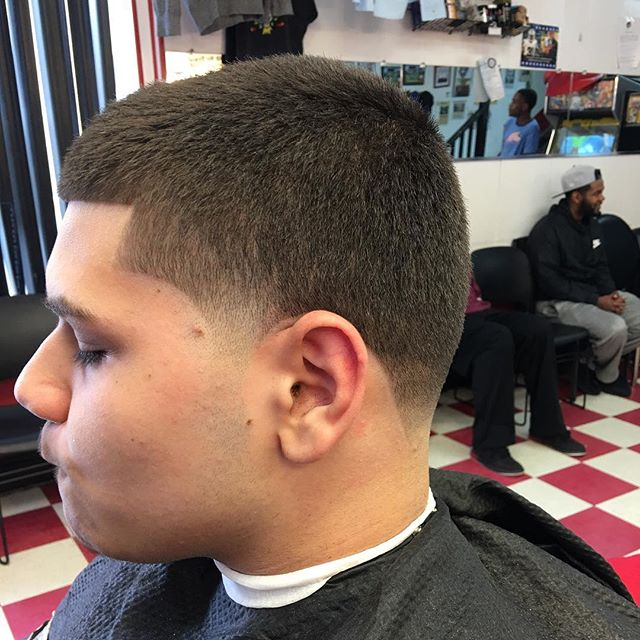 Haven't cut this young man in almost 3 years, during our last haircut, we discussed NBA 2k14. Today's conversation was about a work study program he's interested in. It's amazing sometimes to see the maturation of the boys I cut turn into men. #bythewayhelovedhishaircut #newbritainsfinest #dontcomparemetoanyone #hismommyforgotwhothebestis