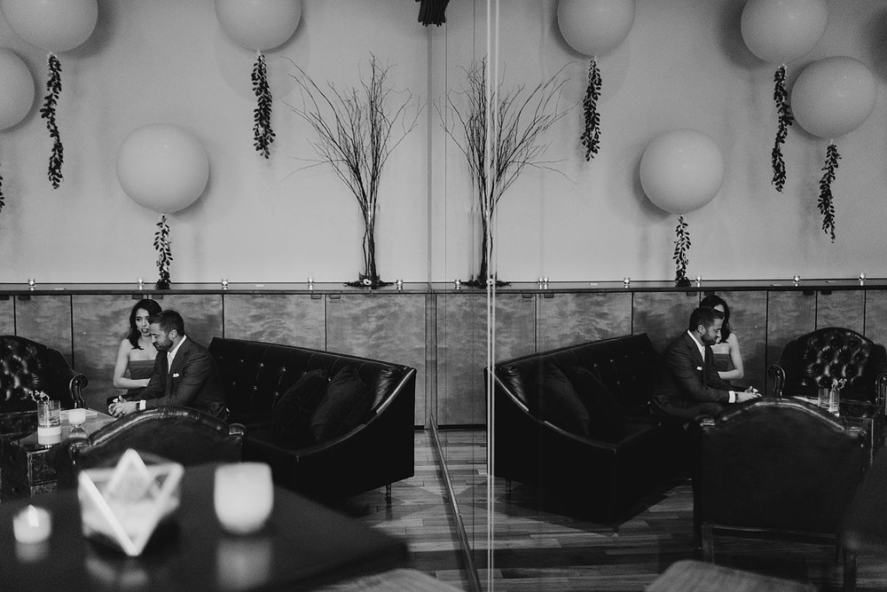 LOVE this photo by  Bonita Gabrielle Photography  with  Vintage Ambiance  couches. Yay summer weddings of 2018 !