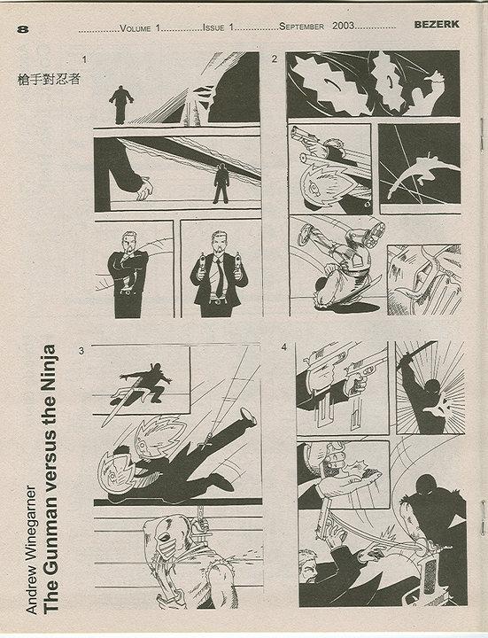 BEZERK Comics Magazine Vol 1 Issue 1 Page 8 (2003)