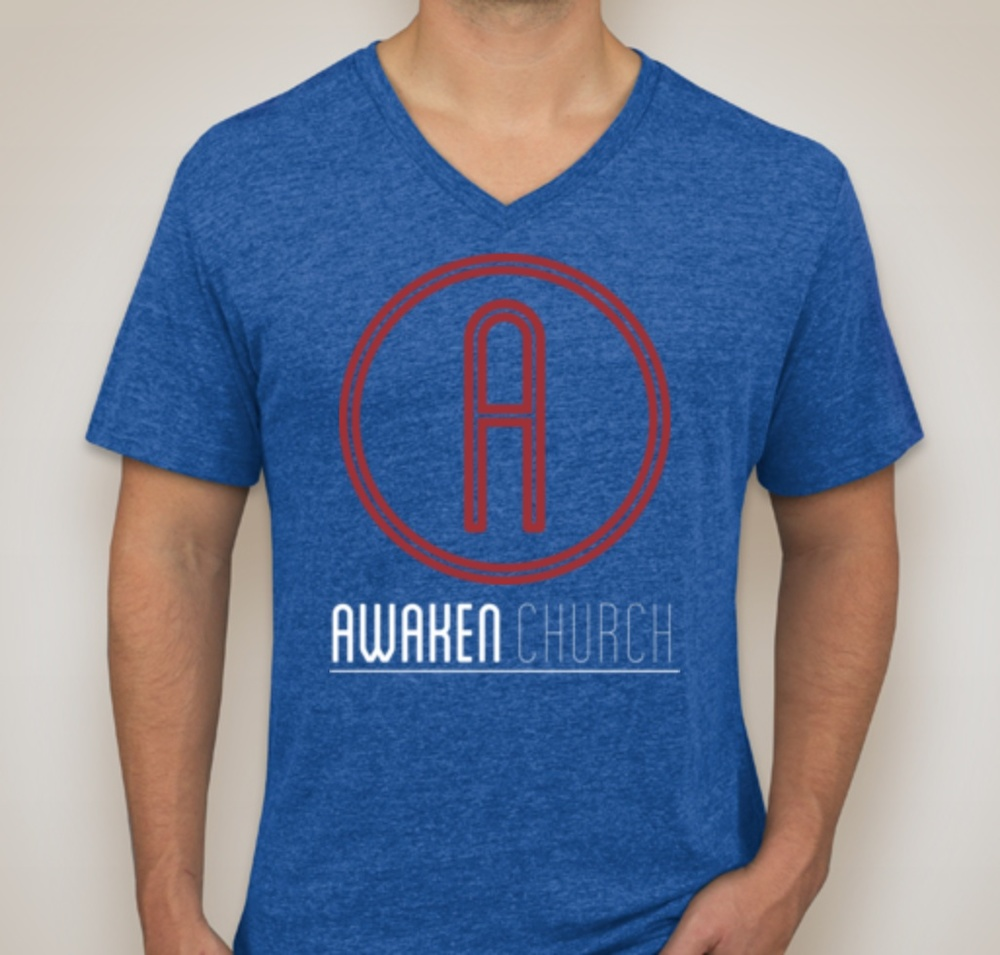 Awaken T-Shirt - Vintage Royal