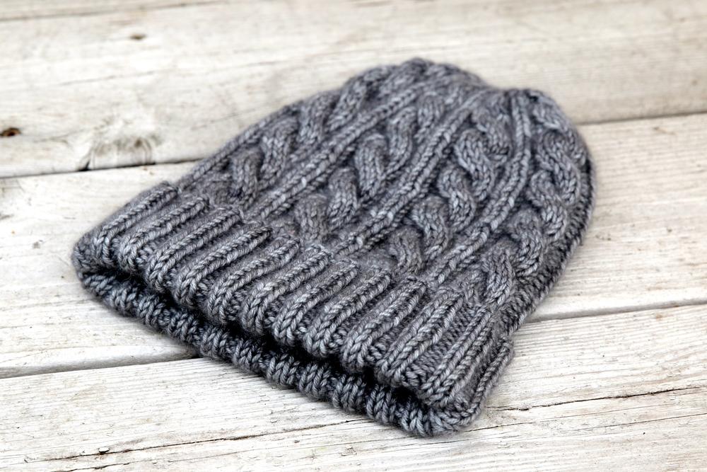 Jasons Cashmere Hat Sweet Fiber Yarns Hand Dyed Luxury