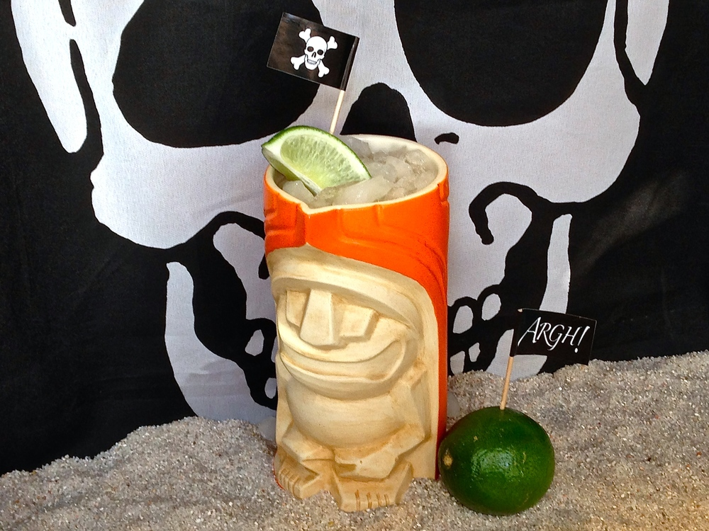 The Sand Pirate served in our signature ZTL mug by PopTiki of Colorado.