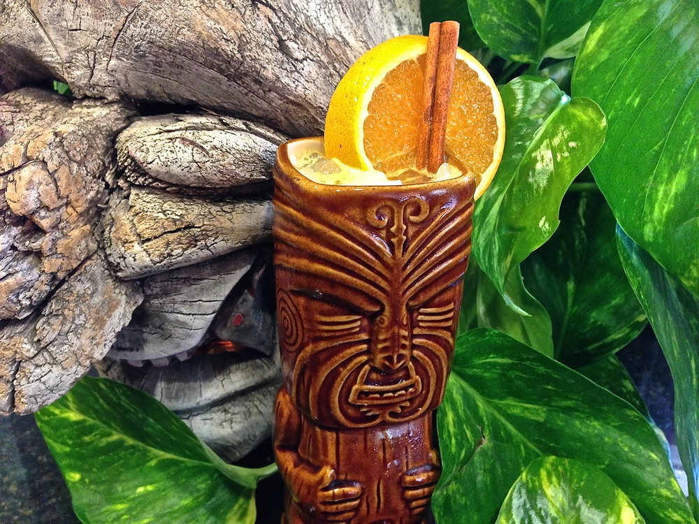 The Scurvy Killer is an easy tiki drink your friends won't let you stop mixing.  Be sure to have plenty of Zaya Rum and cinnamon syrup on hand.