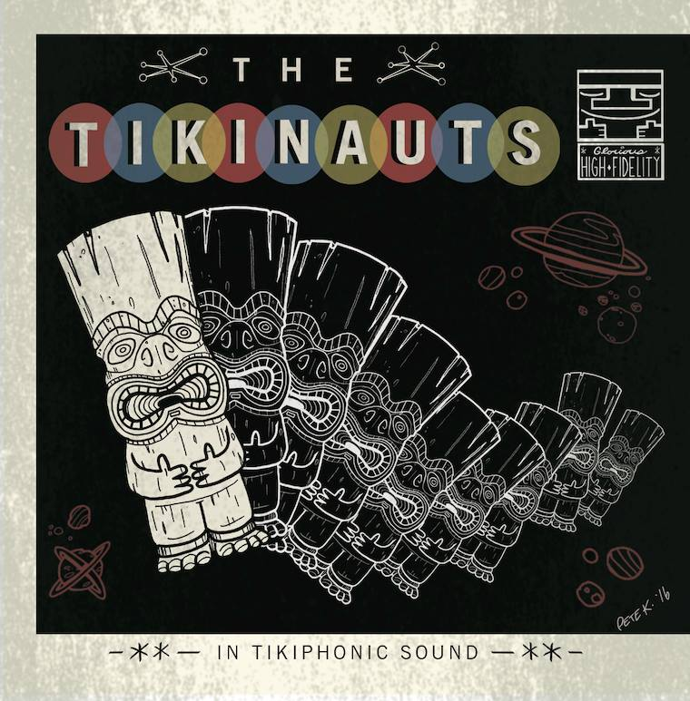 If you happen to be in or travel through the Milwaukee area, you just may be able to catch  The Tikinauts  playing live at one of the local tiki bars or events they are known for haunting.  Music is available now on their site.