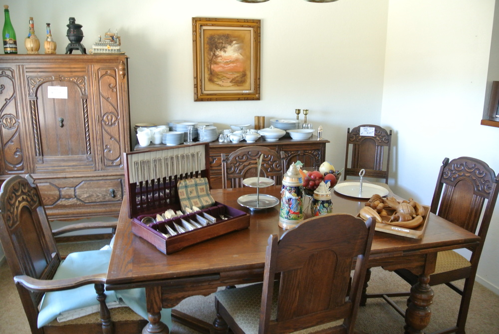 Estate Sale in Tehachapi, California.