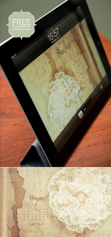 Calendar Wallpaper Ipad : Digital wallpaper desktop ipad iphone calendars