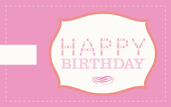 It is a graphic of Birthday Tag Printable with floral