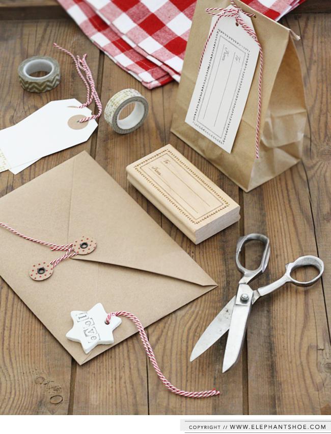 Elephantshoe Christmas Wrapping Box