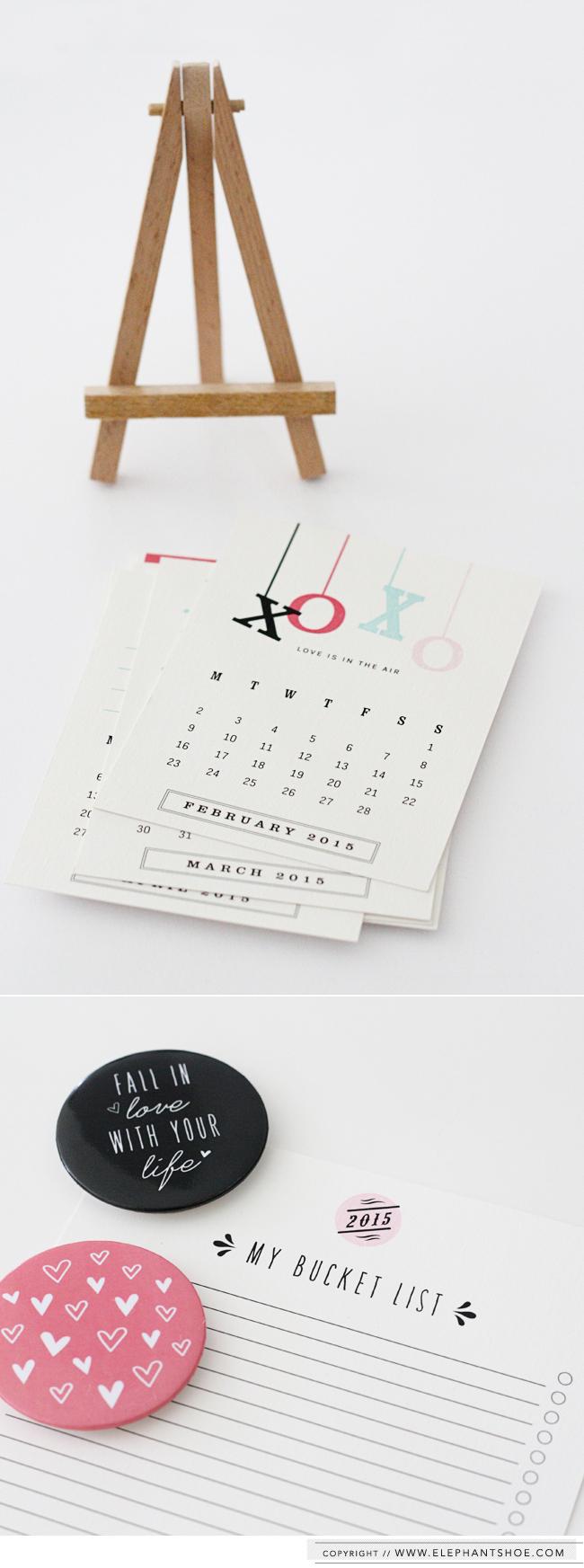 Elephantshoe Calendar