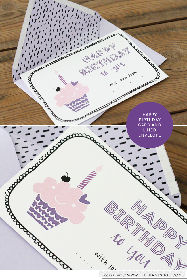 Elephantshoe Card and Envelope