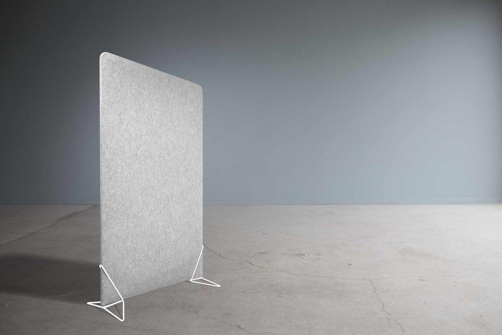 FeltScreen - frittstående gulvstående skillevegg