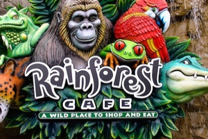 Rainforest Cafe, Piccadilly