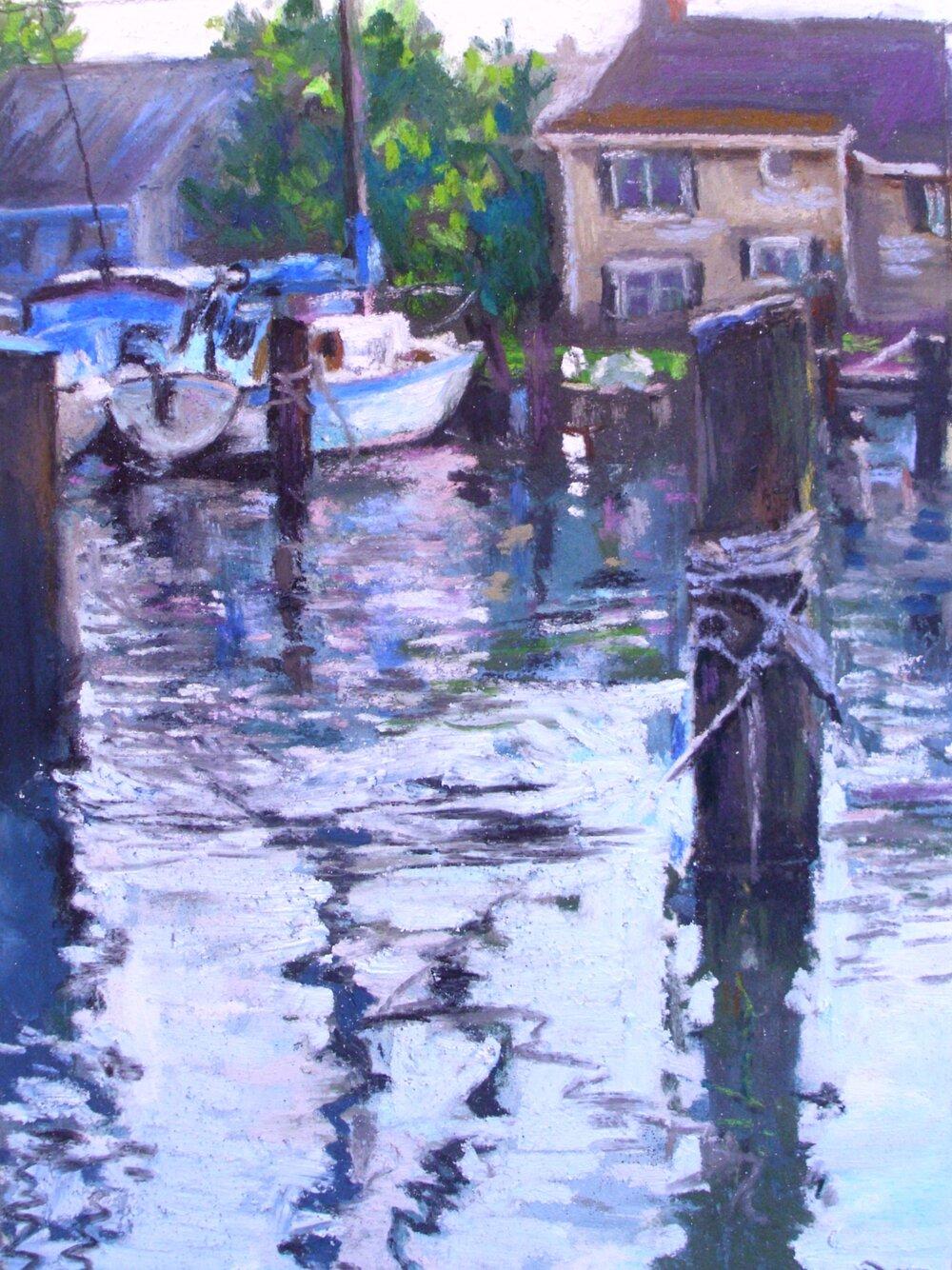 Oxford Harbor Scene