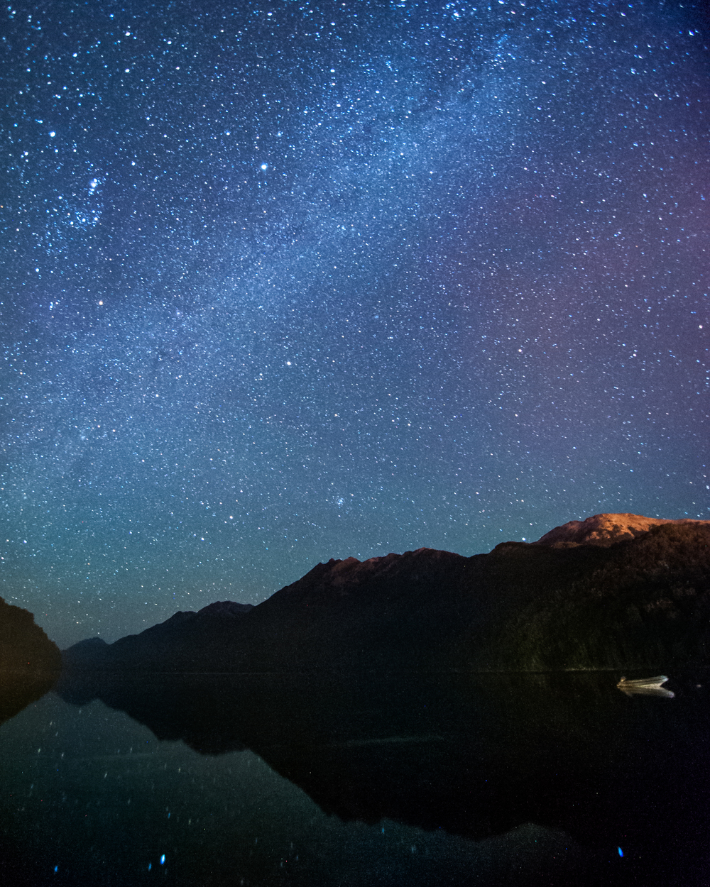 The Milky way - Villa la Angostura, Argentina.